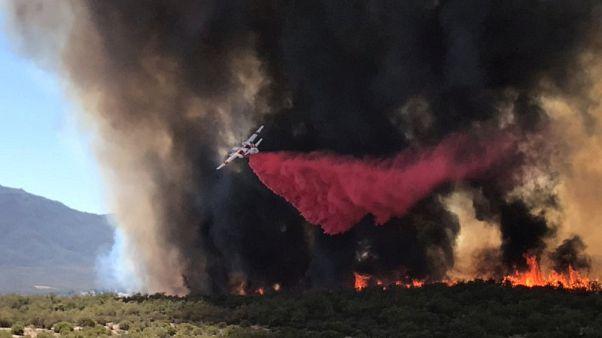 حرائق غابات في شمال كاليفورنيا تجبر المئات على الفرار