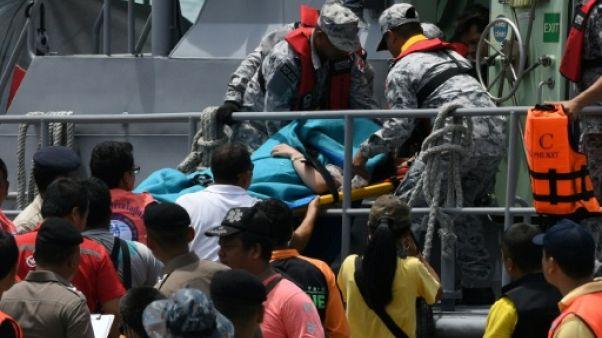 Naufrage en Thaïlande: 37 morts retrouvés, 18 disparus