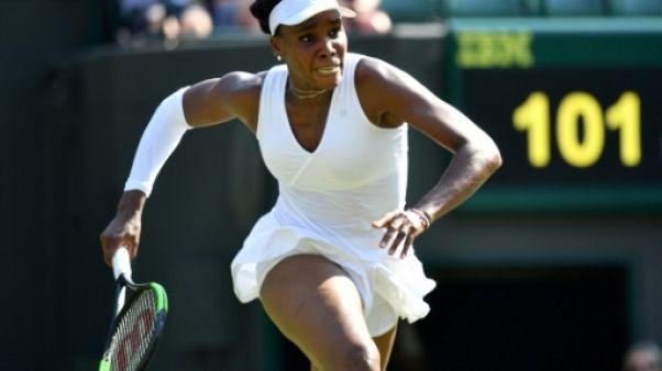Wimbledon: la finaliste sortante Venus Williams, éliminée dès le 3e tour