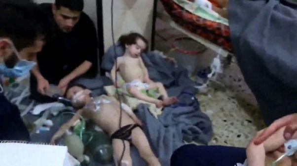 Pas de gaz innervant mais un usage possible de chlore dans une attaque à Douma selon l'OIAC