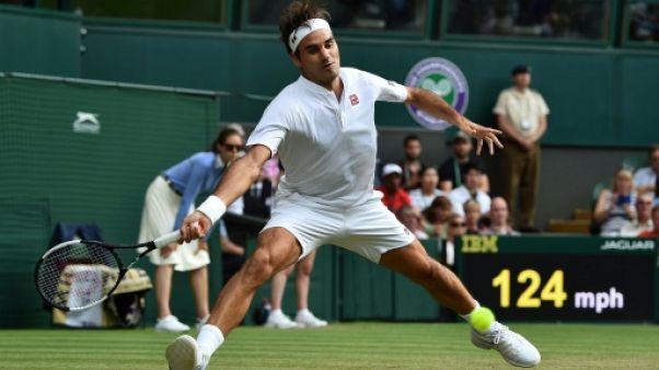 Wimbledon: Federer poursuit sa série et dépasse Connors