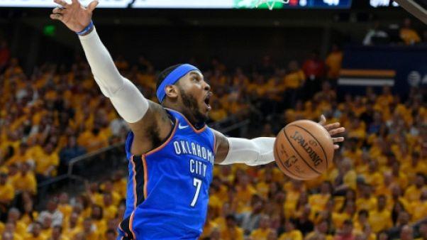 NBA: Carmelo Anthony pourrait quitter Oklahoma