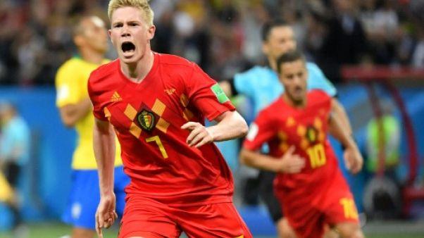 La Belgique sort le grand jeu face au Brésil pour rejoindre la France en demies