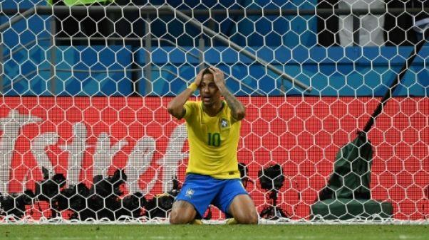 """Brésil: Neymar, """"come-back"""" manqué et désillusion nationale"""