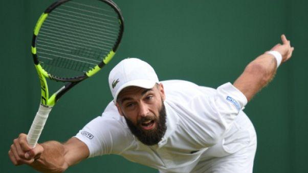 Wimbledon: Paire face à Del Potro, une occasion pour Simon