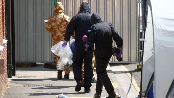 الشرطة البريطانية: التحقيق في التسمم بغاز نوفيتشوك سيستغرق شهورا
