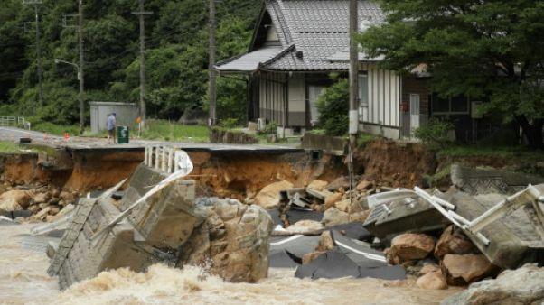 Pluies torrentielles au Japon : au moins sept morts et 1,6 million d'évacués