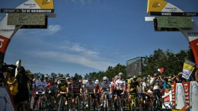 Le Tour de France 2018 s'élance de Noirmoutier