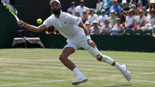 Wimbledon: Paire s'incline face à Del Potro