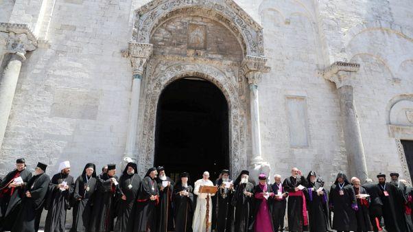 البابا: الجدران والاحتلال والتعصب عقبة أمام السلام في الشرق الأوسط