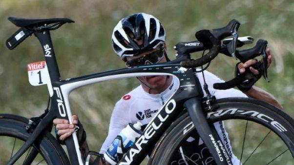 Tour de France: Froome, une chute sans gravité... sauf au classement