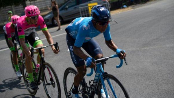 Tour de France: roues cassées et retard conséquent pour Quintana