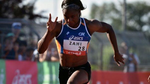 Athlétisme: Carolle Zahi reste championne de France du 100 m avec le 2e chrono européen de 2018