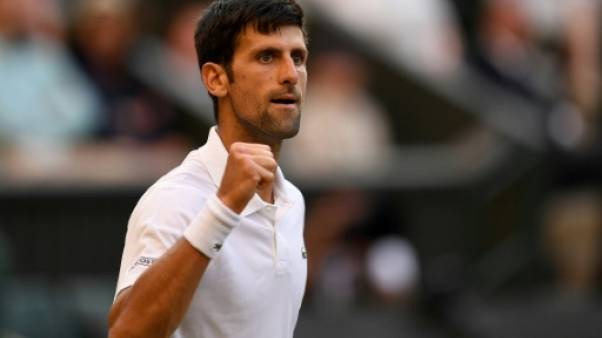 Wimbledon: Novak Djokovic en huitièmes de finales