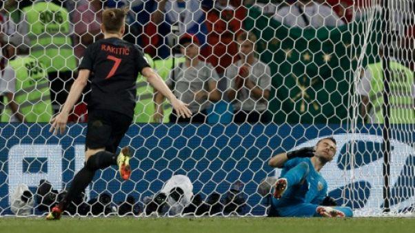 Mondial: la Croatie élimine la Russie et rejoint l'Angleterre en demi-finale