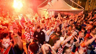 Mondial: Zagreb en feu pour le retour en demies des Croates