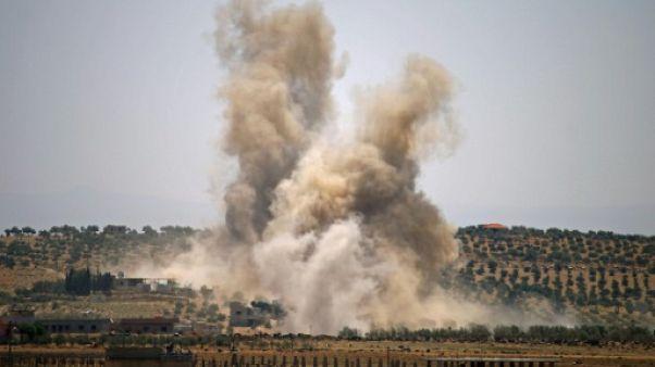 Retour massif de déplacés dans le sud syrien