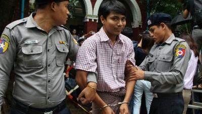 Journalistes de Reuters accusés en Birmanie: refus de non-lieu, indignation internationale