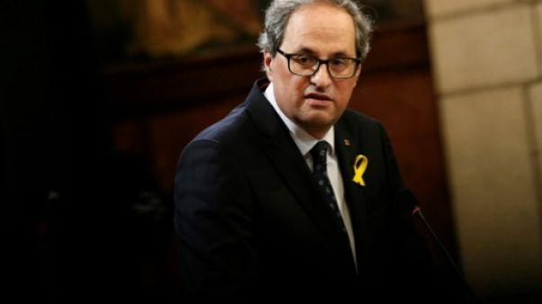 Quim Torra, un indépendantiste radical pour gérer le dégel avec Madrid