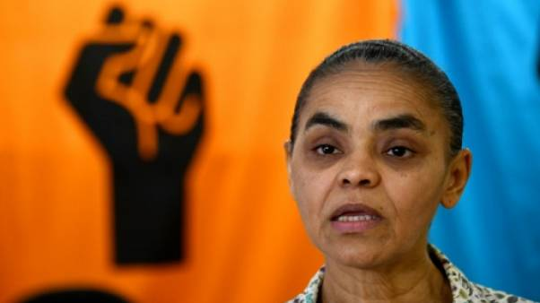 """La candidate écologiste Marina Silva veut restaurer la """"crédibilité"""" du Brésil"""