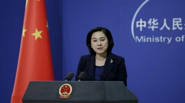 الصين تحث أمريكا على عدم تعريض السلام في مضيق تايوان للخطر