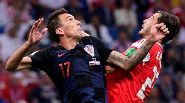 Croatie: Mandzukic, grognard frustré