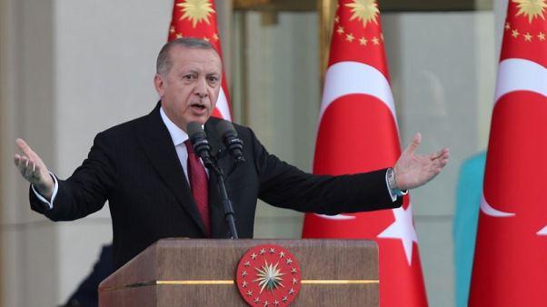 إردوغان يؤدي اليمين رئيسا بصلاحيات جديدة ويعين صهره وزيرا للمالية
