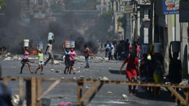 Haïti: gérer la pénurie dans la capitale après trois jours de violence