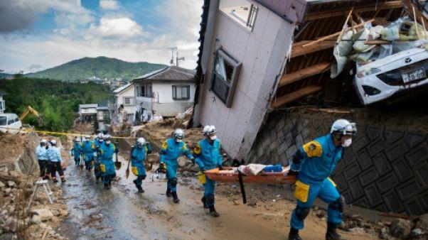 Inondations au Japon: 141 morts, nouveau bilan gouvernemental