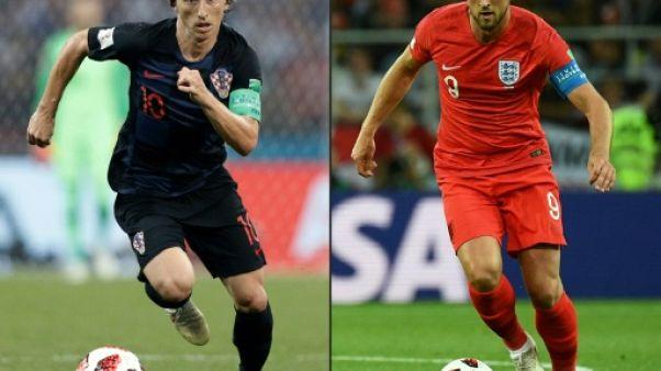 Mondial: de Kane à Modric, la revanche de Tottenham