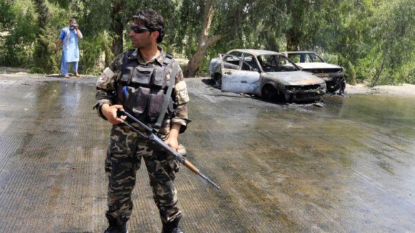 مقتل 10 في هجوم انتحاري بمدينة جلال اباد الأفغانية
