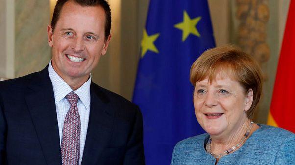 U.S. envoy calls for Germany to block Iran cash withdrawal