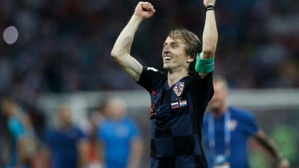 Mondial-2018: sur les traces de... Modric, petit réfugié devenu géant du foot