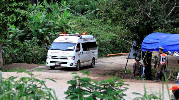 تايلاند تعلن إنقاذ فتية الكهف ومدربهم