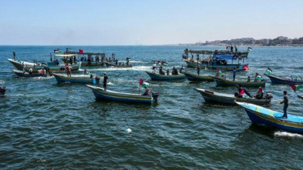 L'armée israélienne arraisonne un bateau parti de Gaza pour briser le blocus