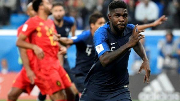 Mondial: la France en finale, en éliminant la Belgique 1-0