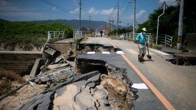 Désastre au Japon: 158 morts, le Premier ministre se rend sur place