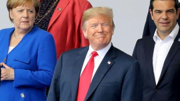 Affrontement Trump-Merkel au sommet de l'Otan