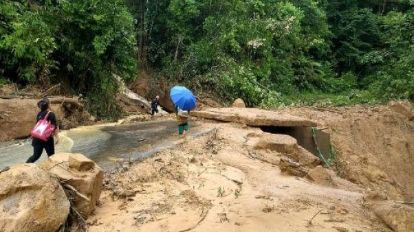 Inde: la mousson fait au moins 15 morts