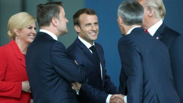 """""""Fair play"""" et """"esprit d'équipe"""": la Coupe du monde s'invite au sommet de l'Otan"""