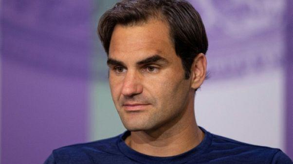 """Wimbledon: """"L'objectif c'est bien sûr de revenir l'an prochain"""", dit Federer"""