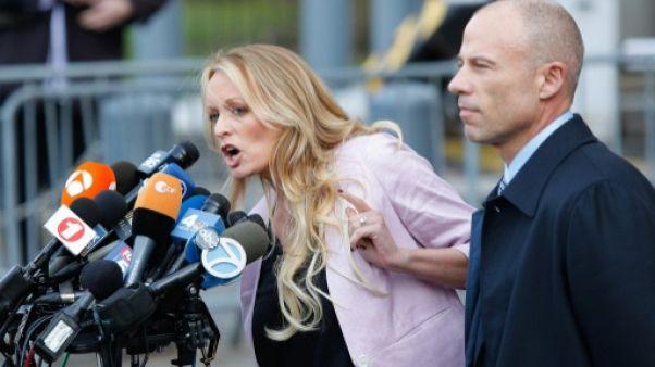 """Etats-Unis: arrestation """"politique"""" de Stormy Daniels dans un club de strip-tease, selon son avocat"""