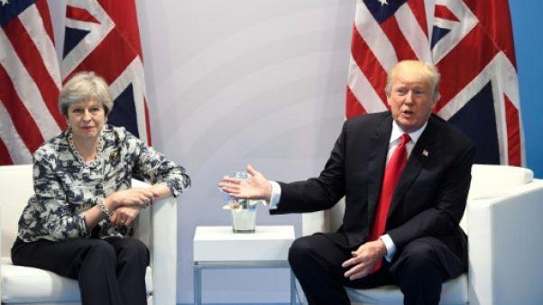 """Trump et le Royaume-Uni: une relation """"spéciale"""" très tumultueuse"""