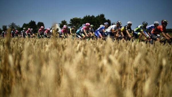 Tour de France: l'étape de vendredi, le parcours le plus long