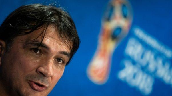 """Croatie: """"Donnez-moi Barcelone ou le Real Madrid et je gagnerai des titres"""", dit Dalic"""