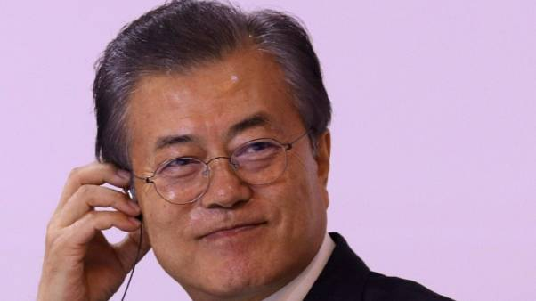 رئيس كوريا الجنوبية يحث بيونجيانج وواشنطن على التحرك لإنهاء البرنامج النووي