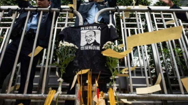 A Hong Kong, des militants commémorent la mort du dissident Liu Xiaobo