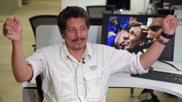 Yuri Cortez, le photographe de l'AFP qui a capturé la gloire des Croates, espère les voir gagner
