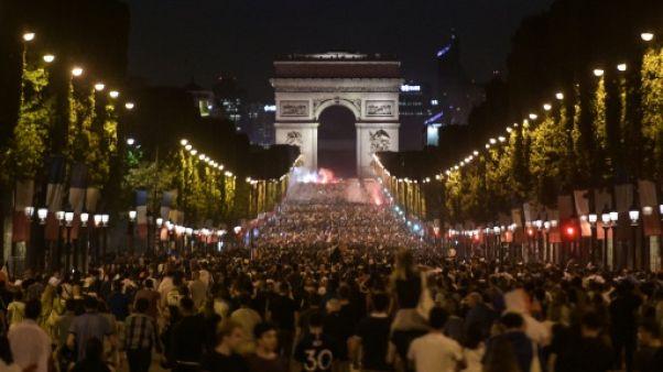 14-Juillet et finale du Mondial: 110.000 forces de l'ordre mobilisées à travers la France