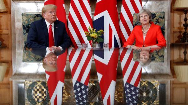 ترامب: العلاقات مع بريطانيا قوية جدا
